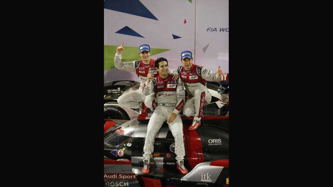 Audi - di Grassi, Duval, Jarvis - WEC - Sportwagen-WM - Bahrain 2016