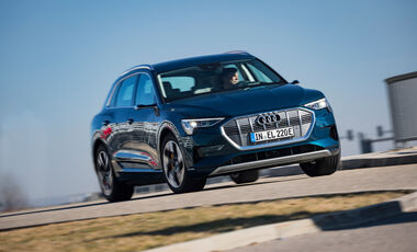 Audi e-tron 55 Quattro Advanced, Exterieur