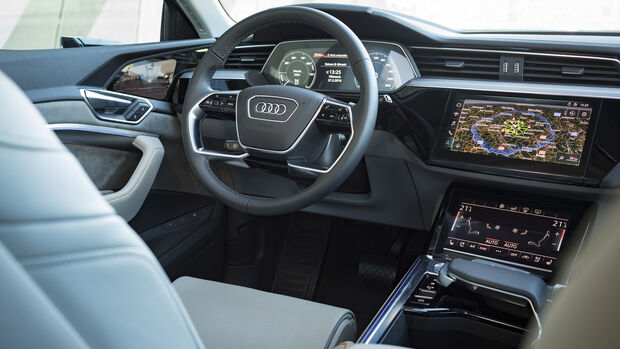 Audi e-tron 55 Quattro Advanced, Interieur