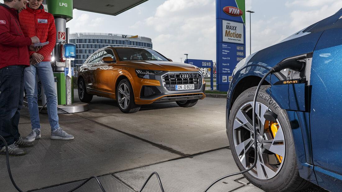 Audi e-tron 55 Quattro, Audi Q8 50 TDI Quattro, Exterieur