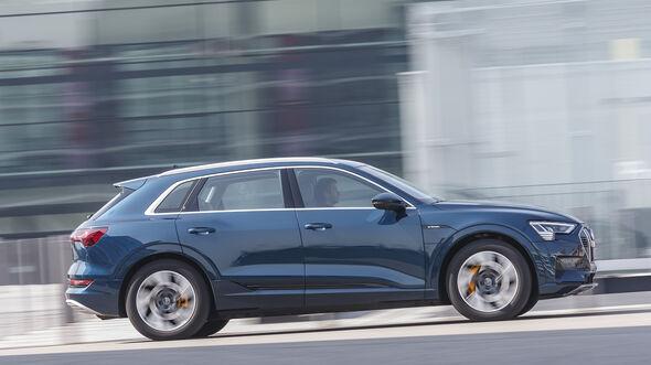 Audi e-tron 55 Quattro, Exterieur