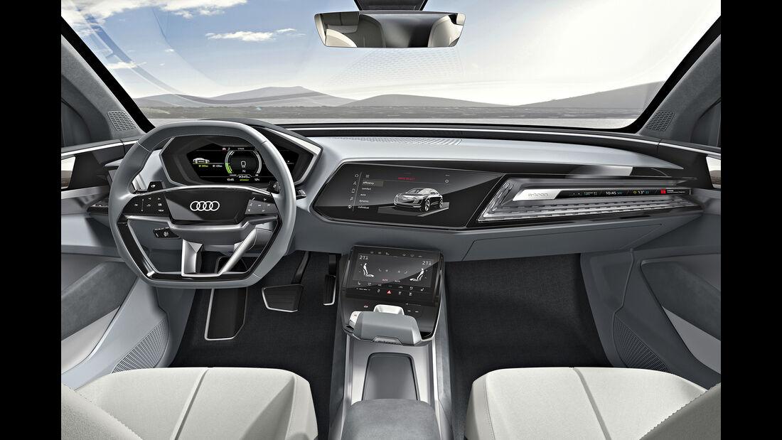 Audi e-tron  Cockpit, AMS1717