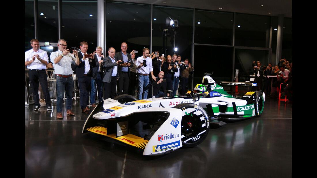 Audi e-tron FE04 - Formel E - Elektrorennwagen - Vorstellung