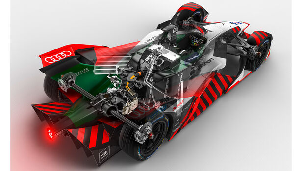 Audi e-tron FE07 - MGU05 - Elektro-Rennwagen - Formel E