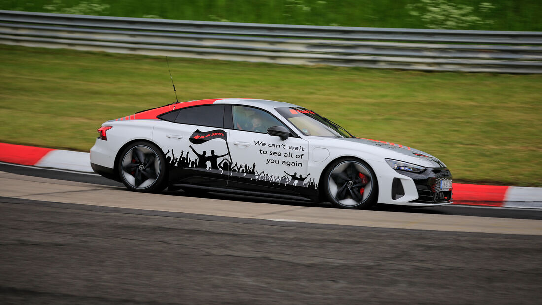 Audi e-tron GT Showcar - 24h Rennen Nürburgring - Nürburgring-Nordschleife - 3. Juni 2021