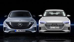 Audi e-tron Mercedes EQC