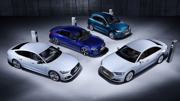 Audi e-tron-Modelle