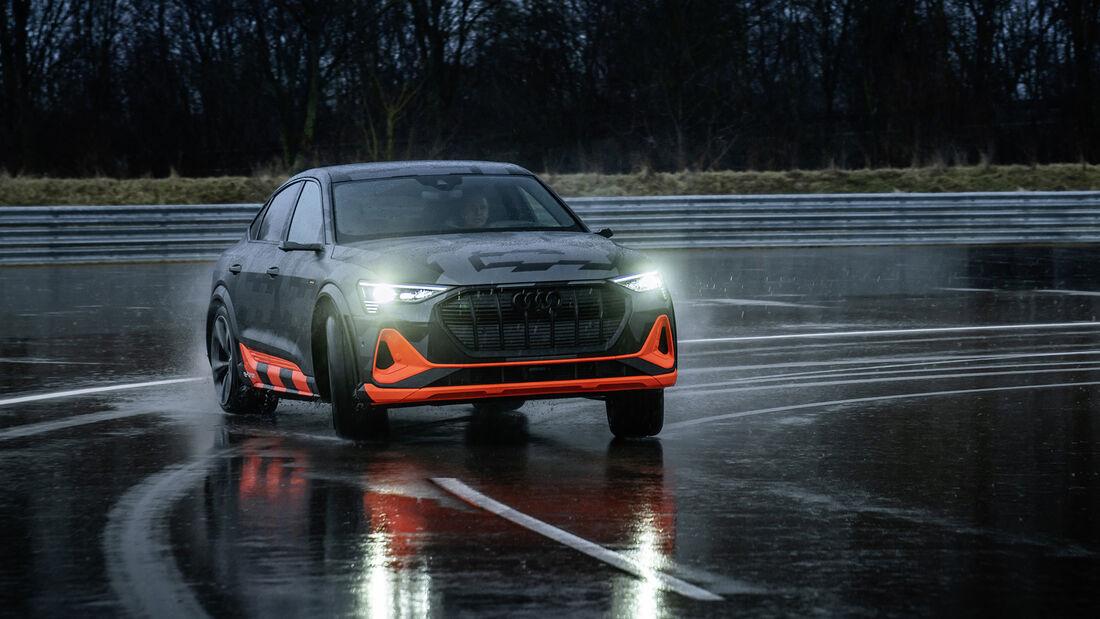 Audi e-tron S, Exterieur