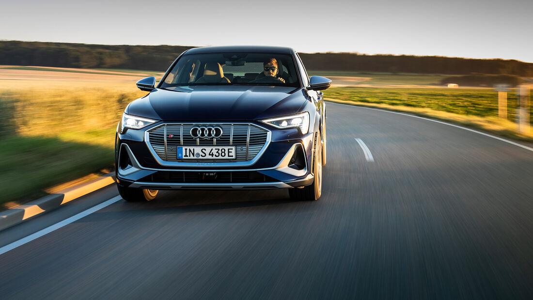 Audi e-tron S Sportback - E-Auto - Elektromotor - Fahrbericht