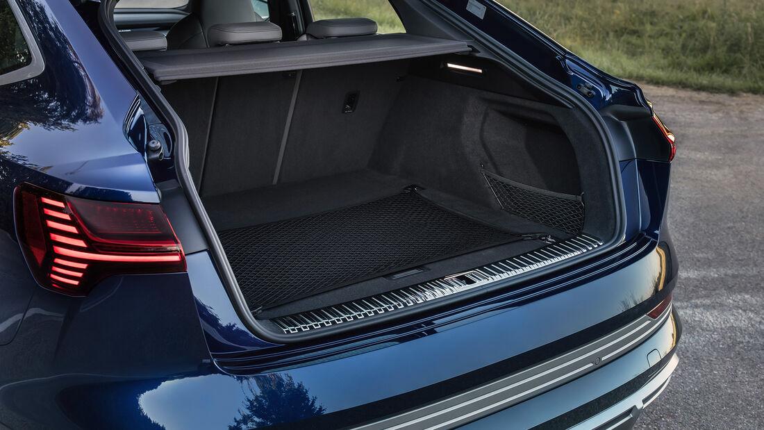 Audi e-tron S Sportback - E-Auto - Elektromotor - Kofferraum