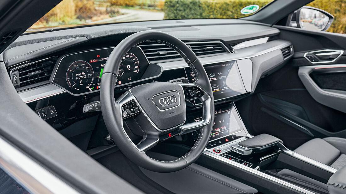 Audi e-tron Sportb. S, ams 0321 Test