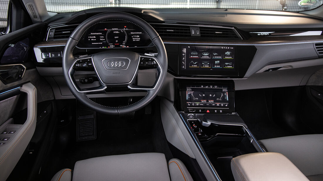 Audi e-tron Sportback, interieur