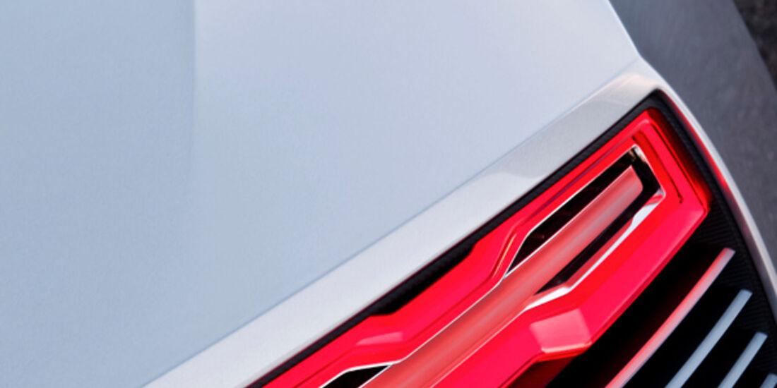 Audi e-tron Spyder, Rücklicht