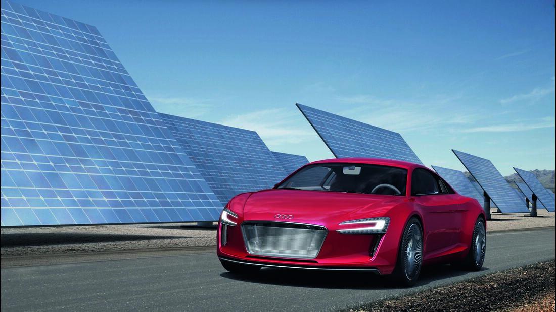 Audi e-tron/Standaufnahme
