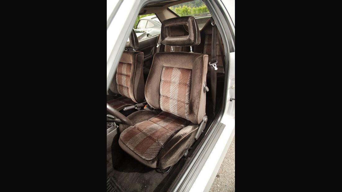 Audi quattro, Fahrersitz