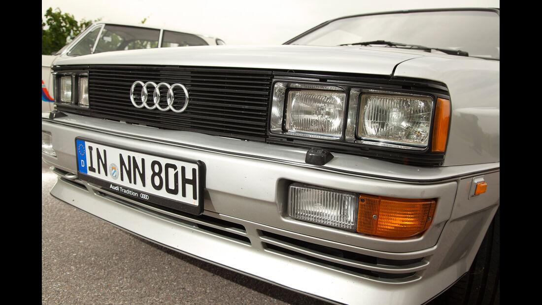 Audi quattro, Frontscheinwerfer