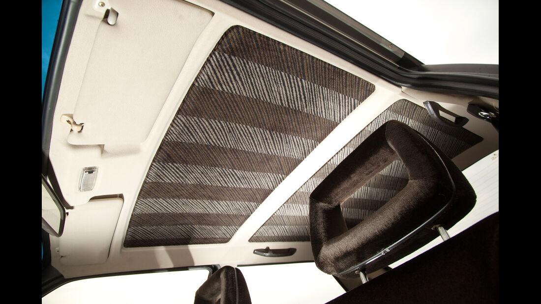 Audi quattro, Himmel, Interieur