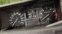 Audi quattro, Rundinstrumente