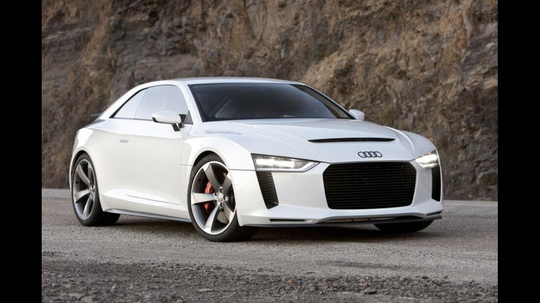 Audi quattro concept, Front