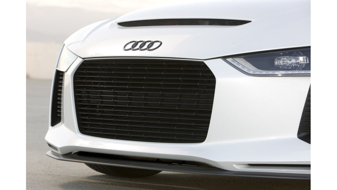 Audi quattro concept, Front, Detail