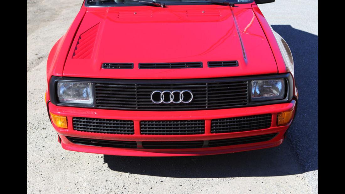 Audi quattro concept, Front, Motorhaube, Detail