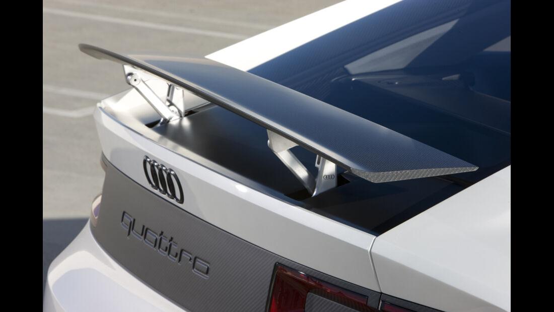 Audi quattro concept, Heckspoiler, Detail