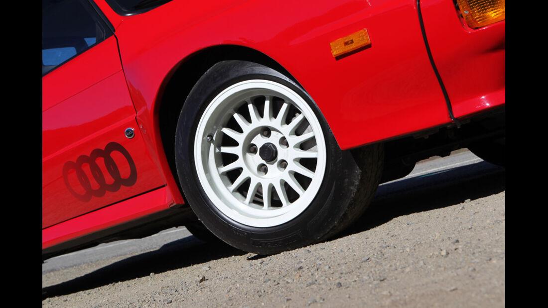 Audi quattro concept, Rad, Felge, Detail