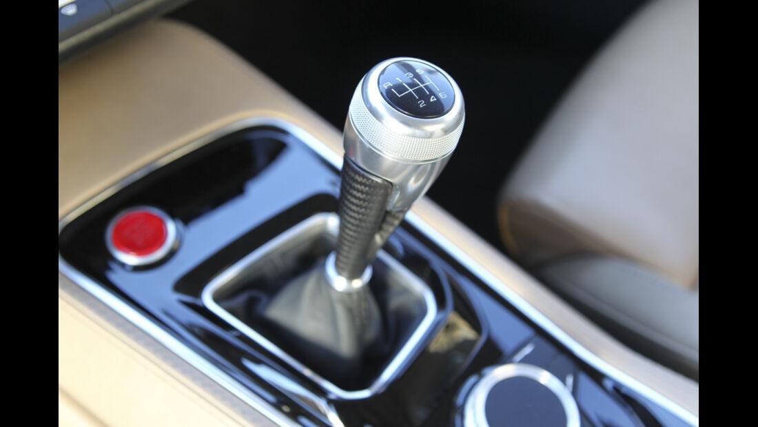 Audi quattro concept, Schalthebel, Detail