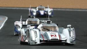 Audi vs. Toyota Le Mans 2012