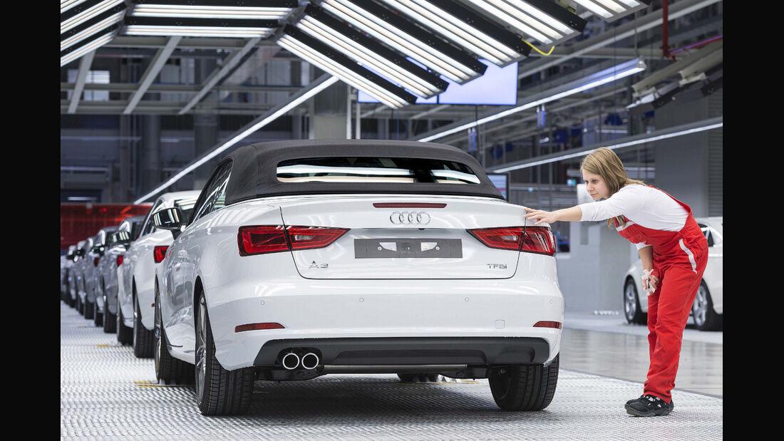 Audis Auftragsbücher waren im ersten Quartal 2014 so voll wie nie.