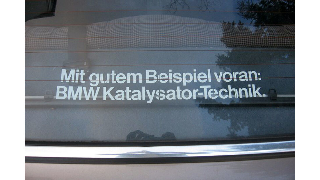 Aufkleber, BMW