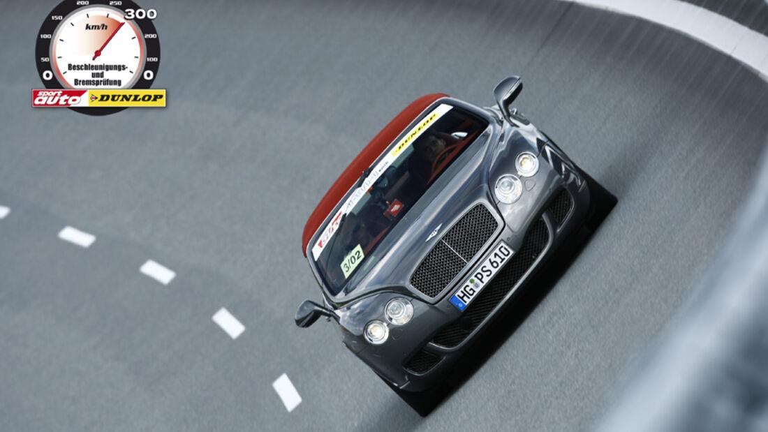 Aufmacher 0-300-0 2010, Bentley Continental GT Speed Cabrio
