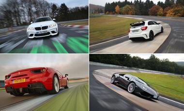 Aufmacher - Best of Supertest 2016 - sport auto