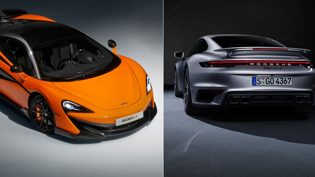 Aufmacher - McLaren 600LT - Porsche 911 Turbo S