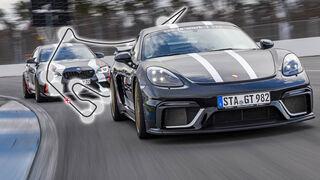 Aufmacher Vergleichstest BMW M2 Competition und Porsche Cayman GT4 A-Workx
