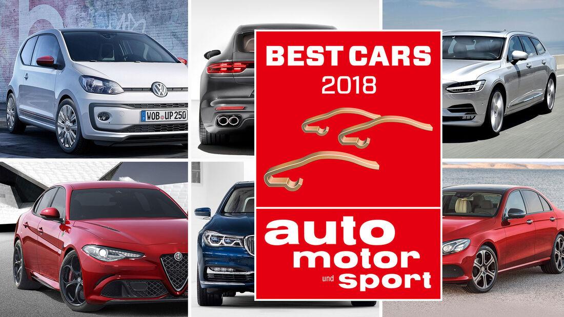 Aufmacher best cars 2018