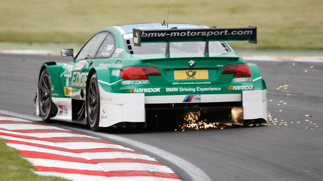 Augusto Farfus BMW DTM Brands Hatch 2012