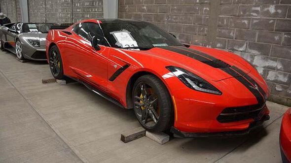 Auktion Mexiko Corvette