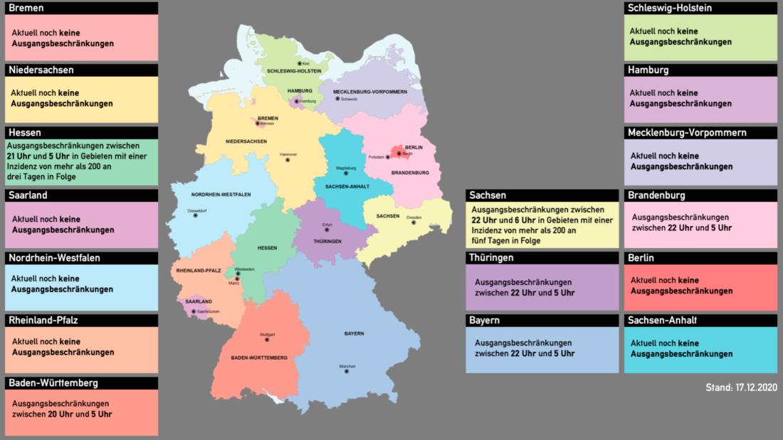 Ausgangsbeschränkungen Deutschland Corona