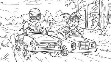 Corona Zeitvertreib Coole Ausmalbilder Von Heissen Autos Auto Motor Und Sport