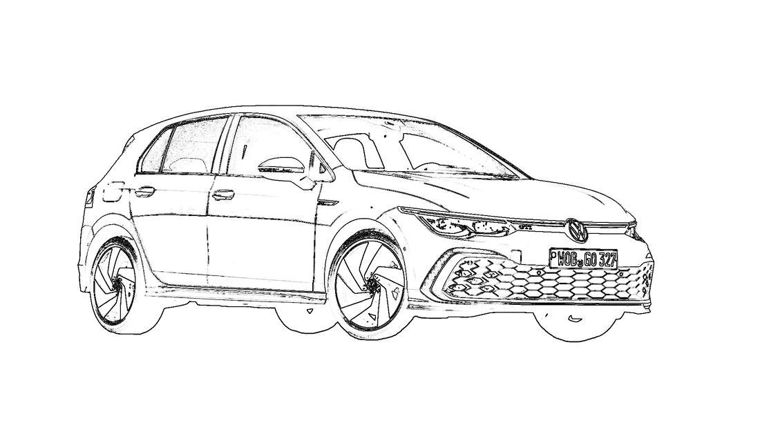 Corona-Zeitvertreib: Coole Ausmalbilder von heißen Autos ...
