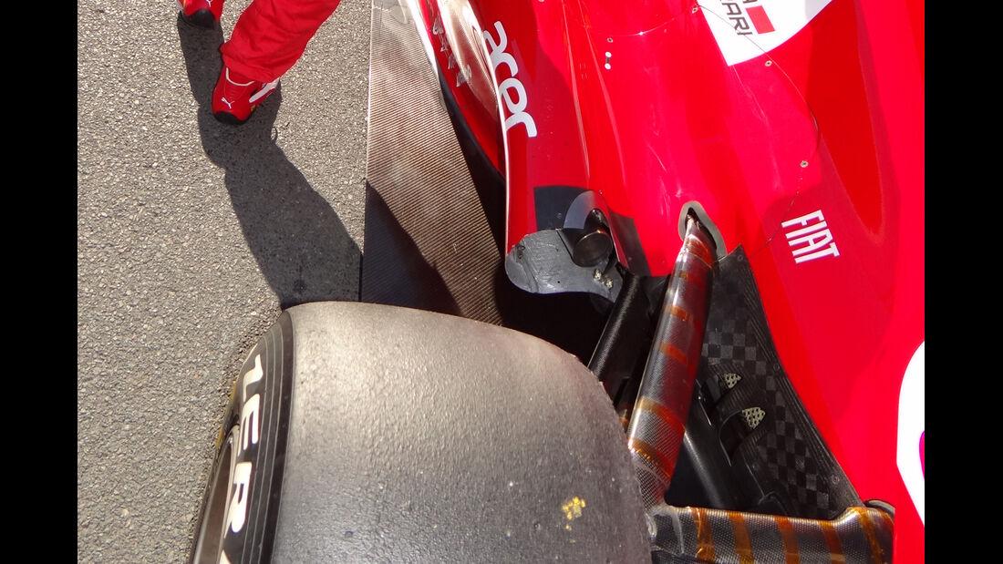 Auspuff Ferrari GP Australien 2012