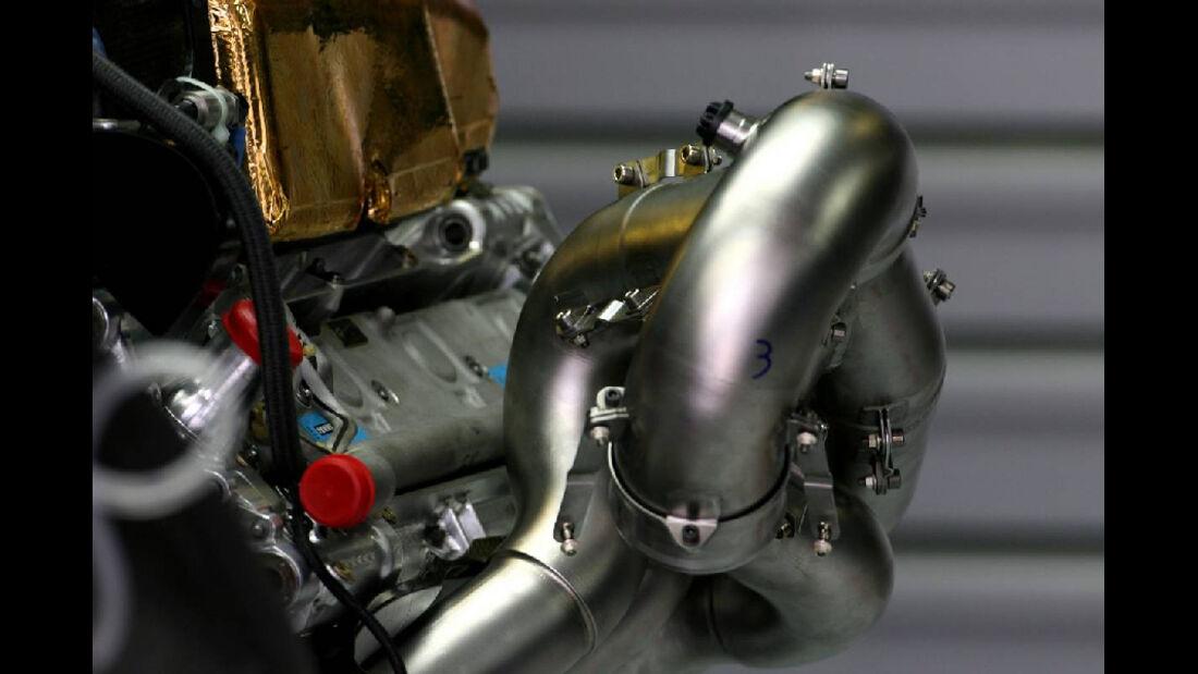 Auspuff - GP Ungarn - Formel 1 - 29.7.2011