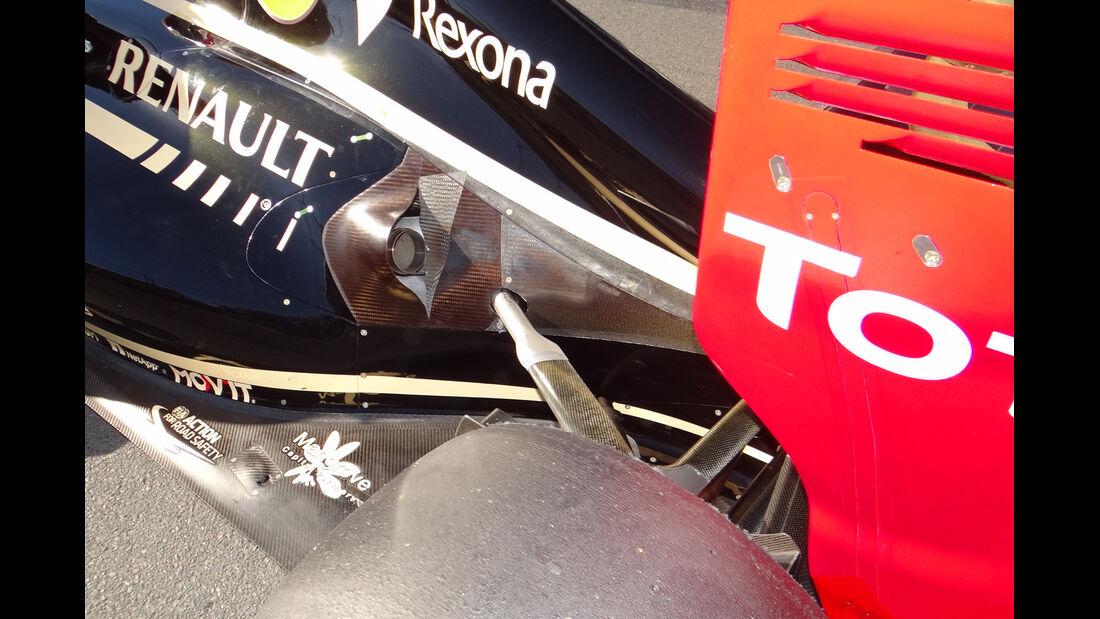 Auspuff Lotus GP Australien 2012