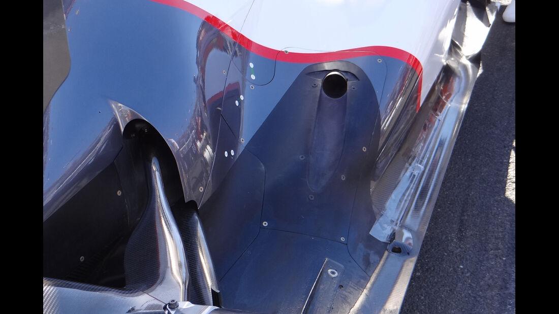 Auspuff Sauber GP Australien 2012