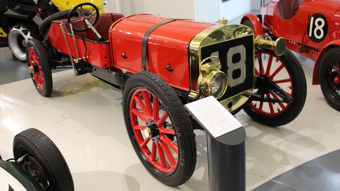 Austin 100hp im British Motor Museum