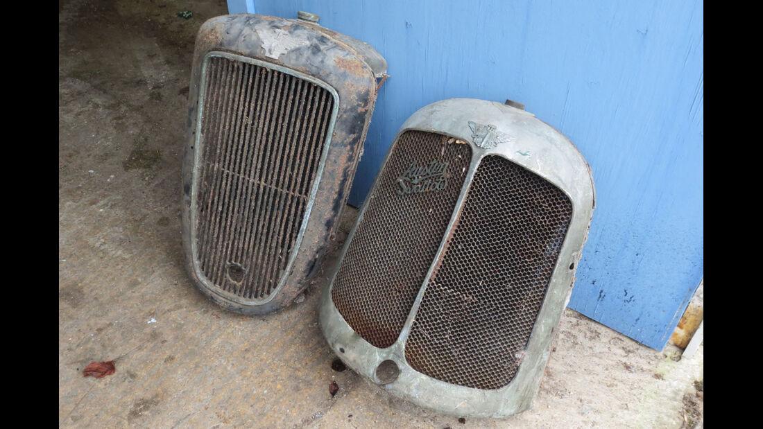 Austin 7 Swallow Radiator, Plus Austin Ruby Surround