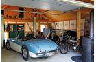 Austin-Healey 100/6 BN6, Garage