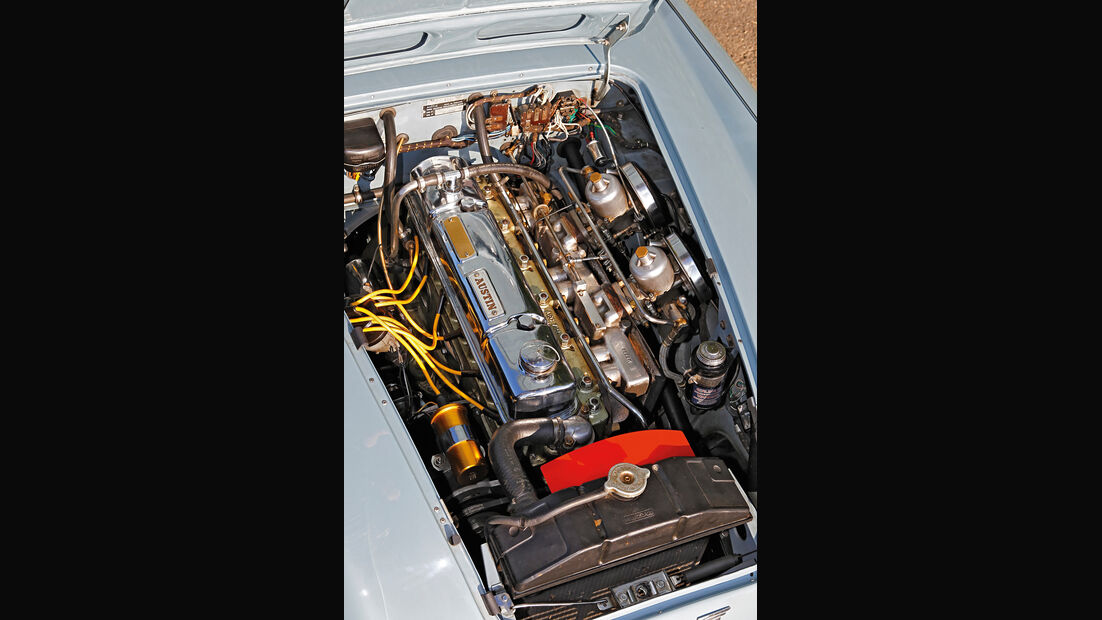 Austin-Healey 100/6 BN6, Motor