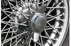 Austin-Healey 100/6 BN6, Rad, Speichen